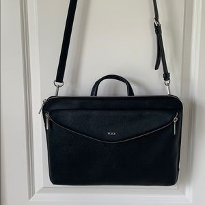 Tumi Sinclair Lena Leather Portfolio -Laptop Bag